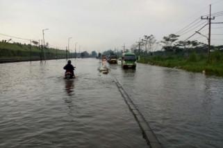 PPLS Kerahkan 10 Pompa Sedot Banjir Porong