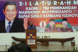 SBY Hadiri Kampanye Margiono di Tulungagung (Video)