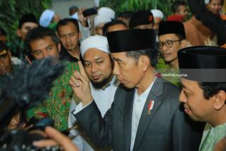Saat Dzikir Kebangsaan Jokowi Ingatkan Persatuan