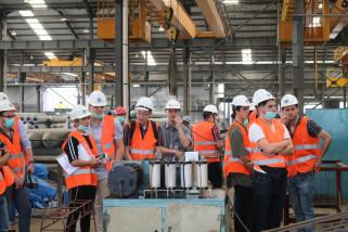 Mahasiswa Asing Pelajari Konstruksi Proyek di Surabaya