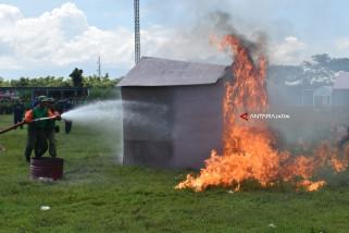 Pelatihan Pemadaman Kebakaran