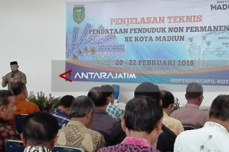 Dispendukcapil Kota Madiun Data Penduduk Non-Permanen