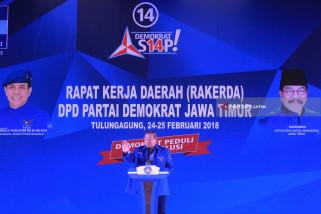 SBY Instruksikan Mesin Partai Menangi Pilkada Serentak (Video)