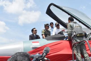 Penyerahan Pesawat F-16 Hibah Amerika