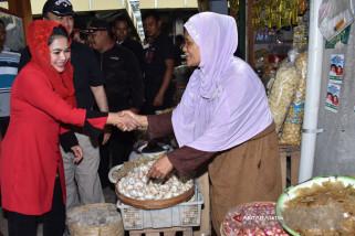 Bacawagub Puti Serap Aspirasi Pedagang Pasar Magetan
