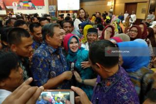 SBY Jadi Jurkam Pasangan Khofifah-Emil di Madiun