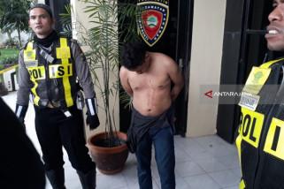 Polisi Amankan Buron Narkoba dari Amuk Massa