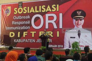 Jember Deklarasikan Kabupaten Bebas Difteri Melalui