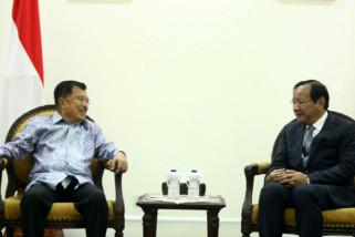 Bahas Kerja Sama, Menlu Kamboja Temui JK