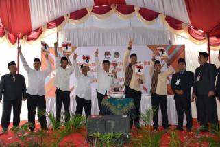 KPU Kabupaten Madiun Tetapkan Nomor Urut Paslon