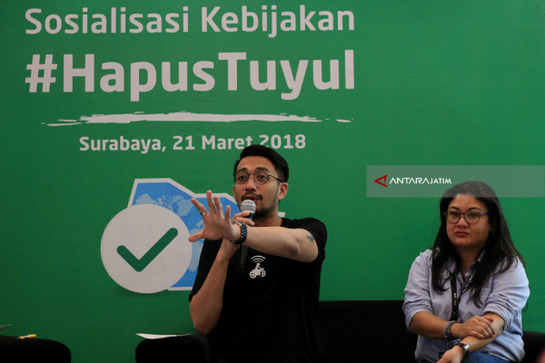 Sosialisasi Kebijakan Hapus Tuyul GO-JEK
