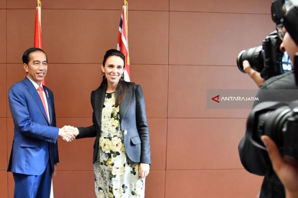Presiden Jokowi Promosikan Kopi Indonesia di Selandia Baru