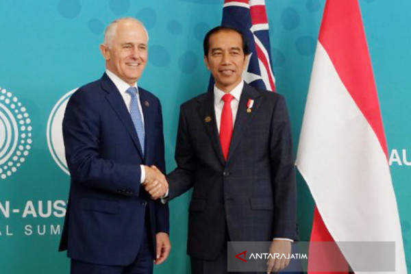 Joko Widodo, Turnbull Hold Bilateral Meeting