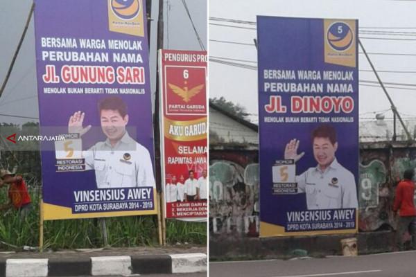DPRD Surabaya Sikapi Usulan Perubahan Perda Nama Jalan