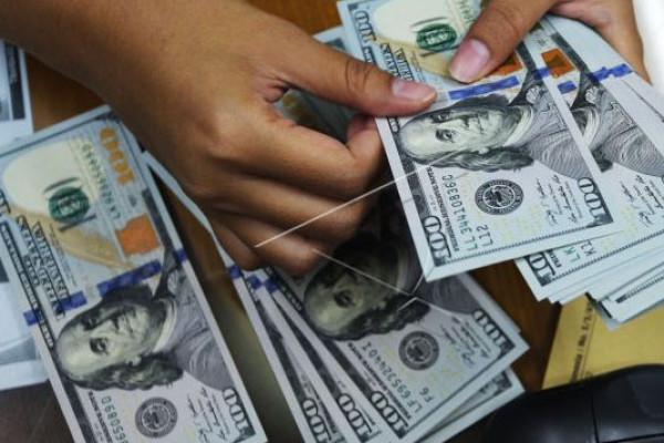 Kurs Dolar AS Melemah
