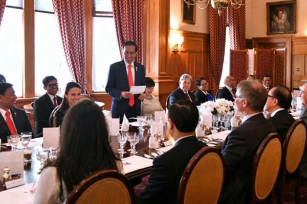 Di Selandia Baru Jokowi Lakukan Diplomasi Kopi
