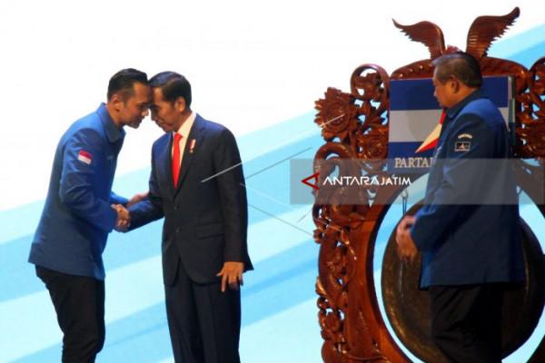 Voting, Demokrat Jatim Pilih Jokowi untuk Pilpres 2019