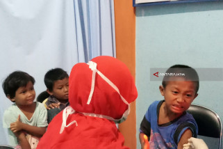 Imunisasi Difteri di Jatim Capai Target