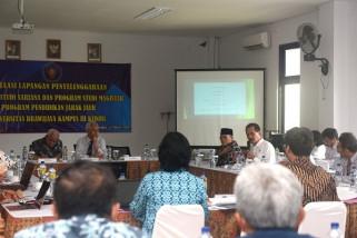 Kemenristekdikti Evaluasi  Program Pendidikan UB di Kediri