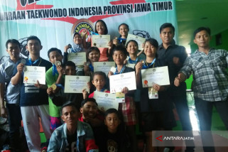 Sembilan  Atlet Taekwondo Situbondo Raih Medali