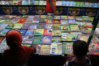 Buku Murah di Pasar Rakyat