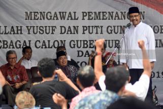 Relawan Jokowi Janjikan Suara ke Gus Ipul-Mbak Puti