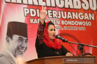 Puti Minta Kader PDIP Bondowoso Kerja Sama dengan Kaum Nahdliyin