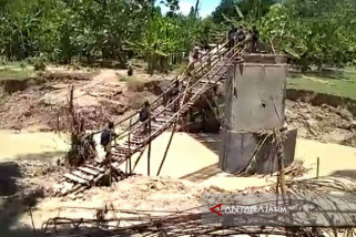 Pemdes Jawik Bojonegoro akan Bangun Jembatan Darurat