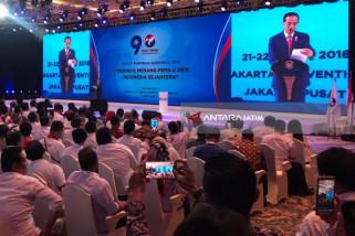 Karena Sering Diputar, Jokowi Sampai Hafal Mars Partai Perindo (Video)