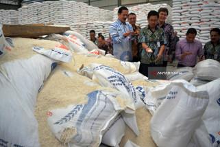 Sidak Beras Impor Thailand