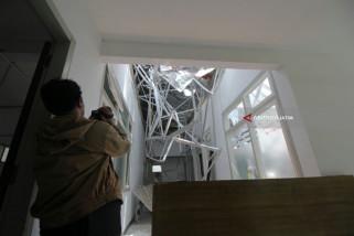 Video - Begini Kronologi Atap Bangunan RSAL Dr. Ramelan Ambruk