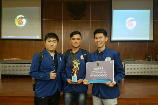 Mahasiswa ITS Juara Lomba Beton Nasional 2018