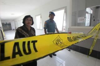 TNI AL Selidiki Ambruknya Bangunan RSAL (Video)