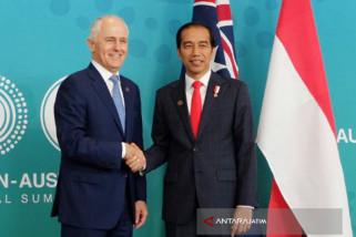 Joko Widodo, Turnbull Hold Bilateral Meeting