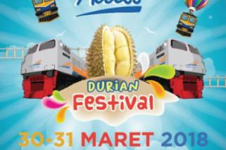 Dukung Produksi Buah Lokal, KAI Daop Jember Gelar Festival Durian