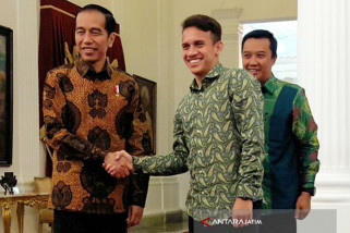 Jokowi Beri Pesan Khusus kepada Egy Maulana