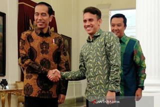 Jokowi Berharap Menpora Temukan Talenta selain Egy (Video)
