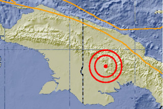 Gempa Guncang Nias Barat dan Papua