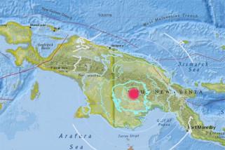 Gempa 6,0 SR Guncang Papua Nugini