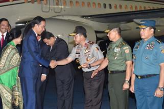 Jokowi Tiba di Tanah Air dari Australia-Selandia Baru (Video)