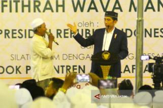 Kata Jokowi Bank Wakaf Mikro selesaikan masalah Perbankan Konvensional