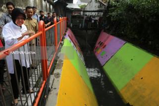56 Rumah Pompa di Surabaya akan Dicat Warna-Warni