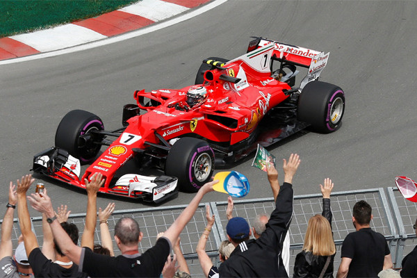 Raikkonen Menangi GP AS