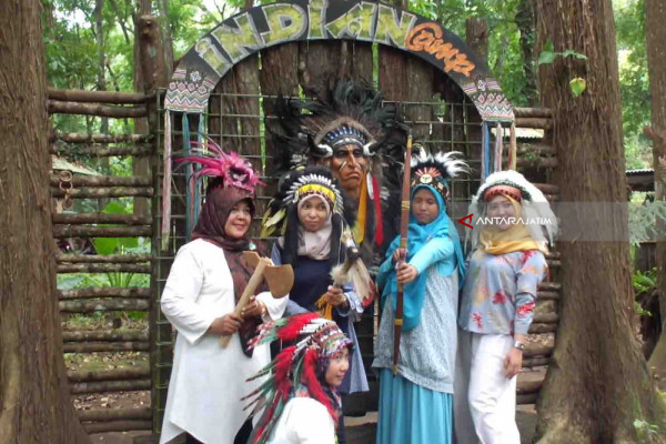 Serunya Berpetualang ke Kampung Indian di Arjasa Jember (Video)