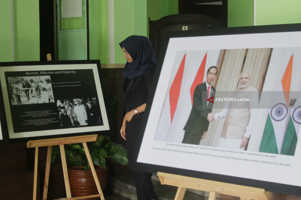 Pameran Foto Persahabatan Indonesia-India