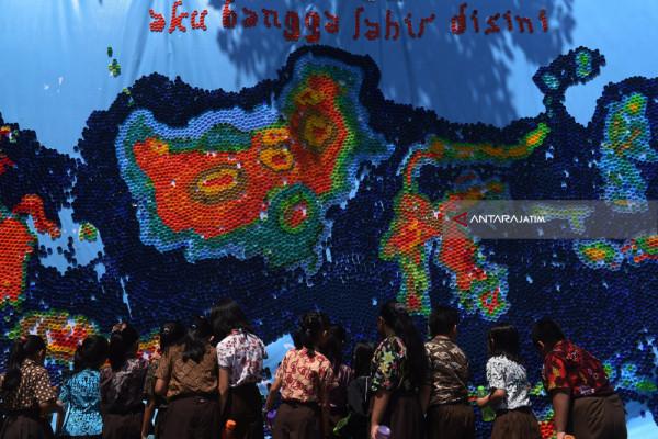 Peta Indonesia Dari Tutup Botol