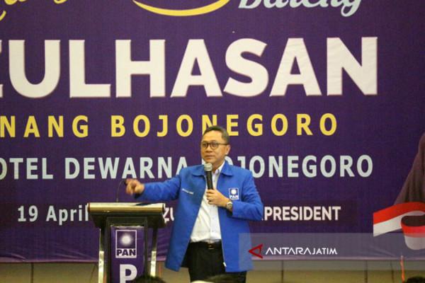 Zulkifli Hasan akan Maksimalkan Suara PAN untuk Pilgub Jatim (Video)