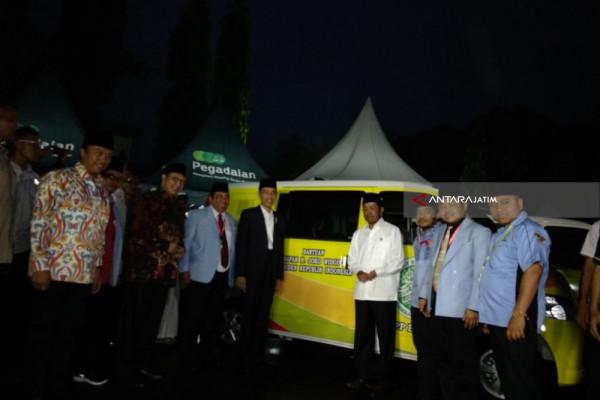 Jokowi: 40 Mobil untuk Pemeliharaan Masjid (Video)