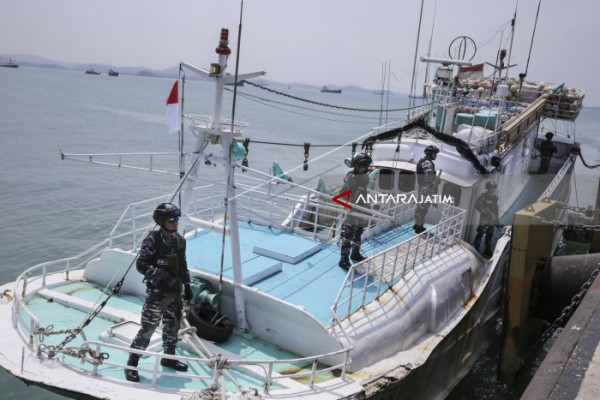 Vietnamese Ship Impounded For Encroaching On Indonesian Water