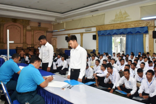 3.580 Peserta Ikuti Seleksi Calon Prajurit TNI AL